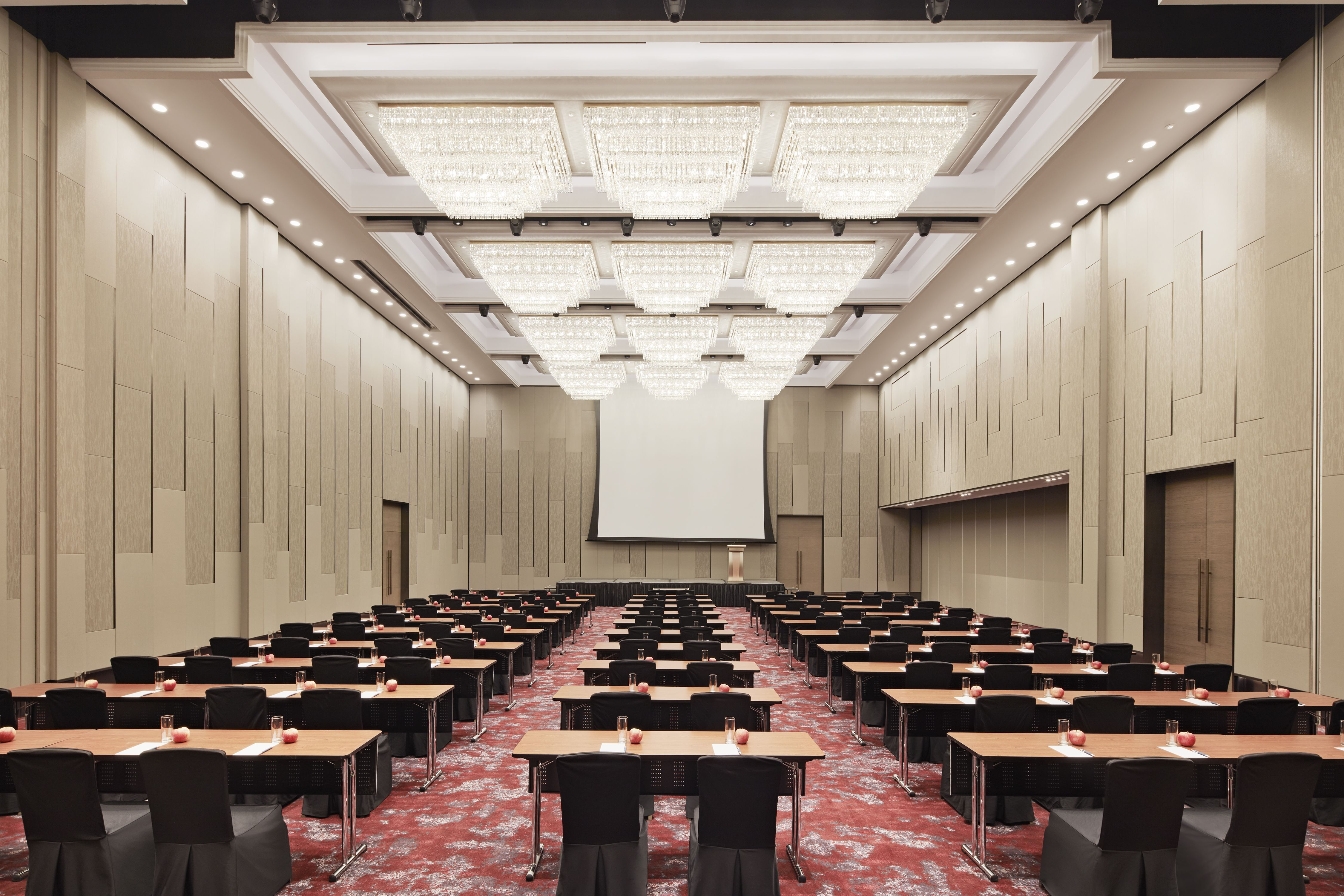 Newly Transformed Grand Ballroom - Classroom Setting