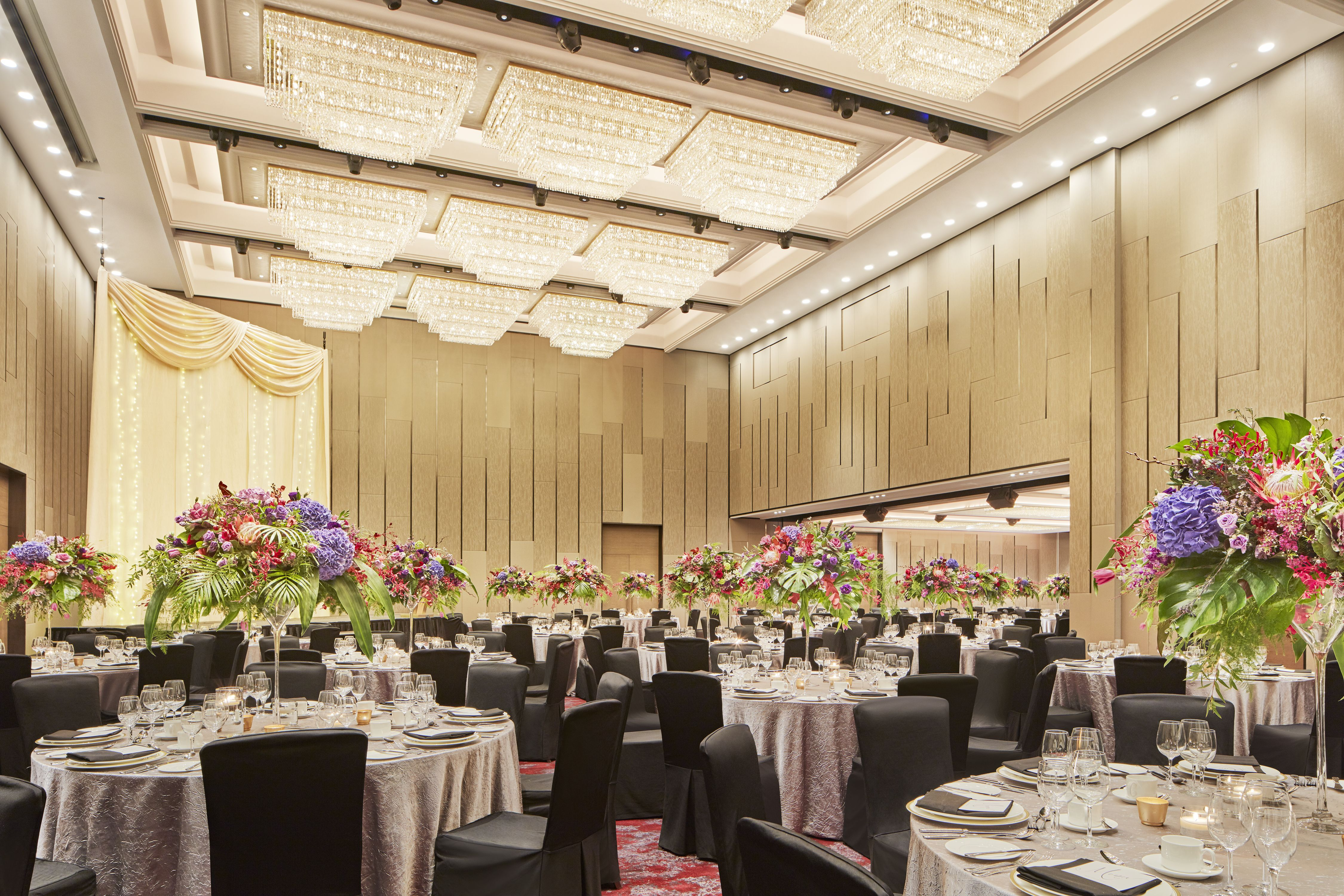 Newly Transformed Grand Ballroom - Gala